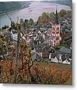 Elevated View Of Bacharach Metal Print