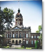 Elkhart County Courthouse - Goshen, Indiana Metal Print