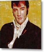 Elvis Presley Y Mb Metal Print