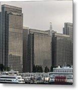 Embarcadero Center Buildings In San Francisco, California Metal Print