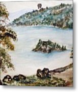 Emerald Bay Lake Tahoe Metal Print
