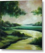 Emerald Forest Metal Print