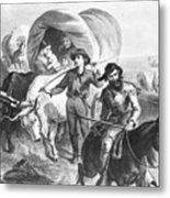 Emigrants To West, 1874 Metal Print