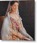Empress Alexandra Feodorovna Of Russia Metal Print
