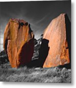Enchanted Rock Megaliths Metal Print