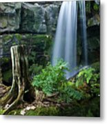 Enchanted Waterfall Metal Print