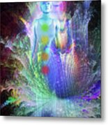 Formation Of Woman Metal Print