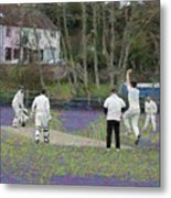 England Club Cricket Metal Print