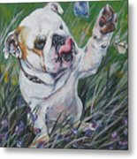 English Bulldog Metal Print by Lee Ann Shepard