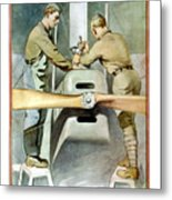 Mechanical Training - Enlist In The Air Service Metal Print
