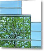 Environment Reflected Metal Print