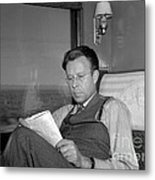 Ernest Lawrence, American Physicist Metal Print