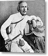 Ernst Haeckel, Naturalist And Artist Metal Print