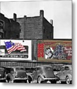 Errol Flynn They Died With Their Boots On 1940 Prescott Arizona Color Added 2011 Metal Print