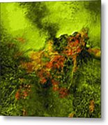 eruption II Metal Print