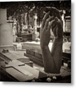 Eternal Hands Metal Print