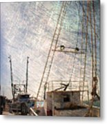 Evening In The Harbor Metal Print