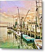 Everett Seafood Metal Print