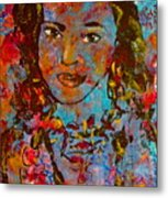 Exotic Princess Metal Print