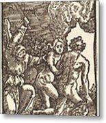 Expulsion From Paradise Metal Print
