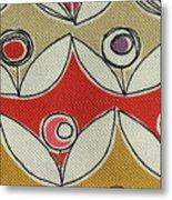 Fabric Texture Metal Print
