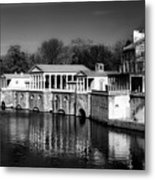 Fairmount Water Works - Philadelpha Metal Print