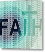 Faith - The Lord God Of Israel Metal Print