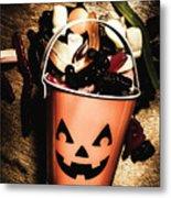 Fall Of Halloween Metal Print
