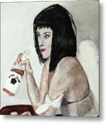 Fallen Angel Metal Print