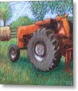 Farm Relic Metal Print
