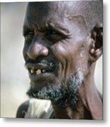 Farmer In Ethiopia Metal Print