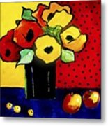 Favorite Funny Flowers 2 Metal Print