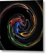 Feel Happy-colorful Digital Art That Can Enhance Your Mood Metal Print