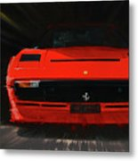 Ferrari 208 Gtb Turbo. Metal Print
