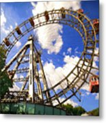 Ferris Wheel At The Prater  Metal Print