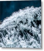 Ferry Waves Metal Print