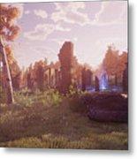 Final Fantasy Xiv A Realm Reborn Metal Print
