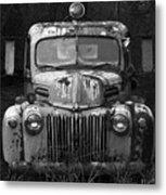 Fire Truck Metal Print