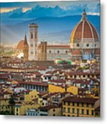 Firenze Duomo Metal Print