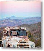 Firestone Truck Metal Print