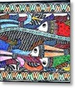 Fish Culture Metal Print