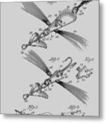 Fish Lure Patent 1933 Metal Print