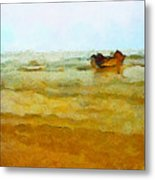 Fishing Boat Metal Print