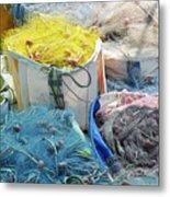 Fishing Industry In Limmasol Metal Print