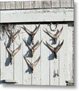 Fishing Shack Metal Print