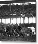 Football Game, 1925 Metal Print by Granger