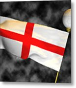 Football World Cup Cheer Series - England Metal Print