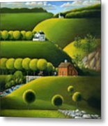 Foothills Of The Berkshires Metal Print