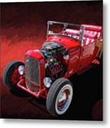 Ford Hot Rod Roadster Metal Print