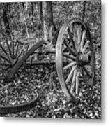 Forgotten Wagon Metal Print